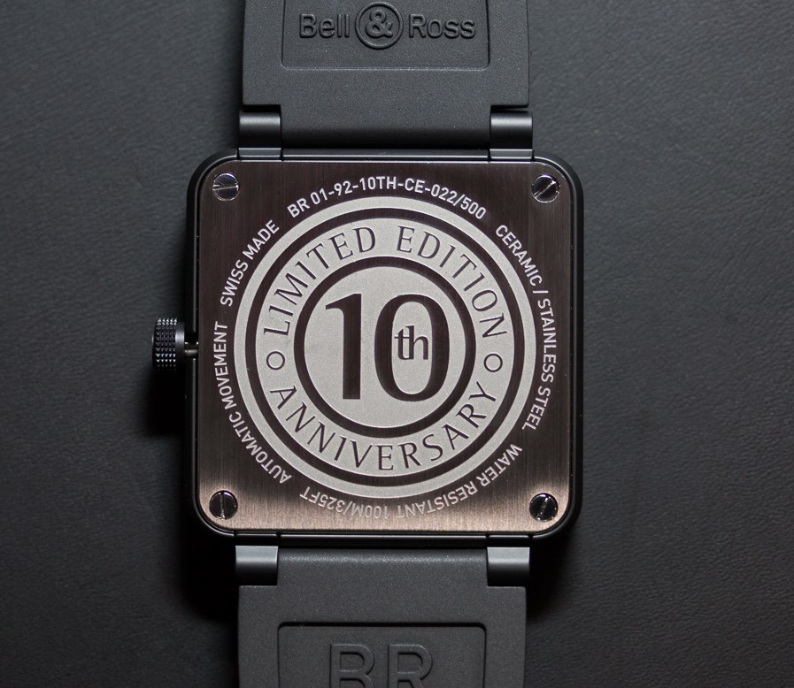 Bell & Ross BR-01 10-th Anniversary