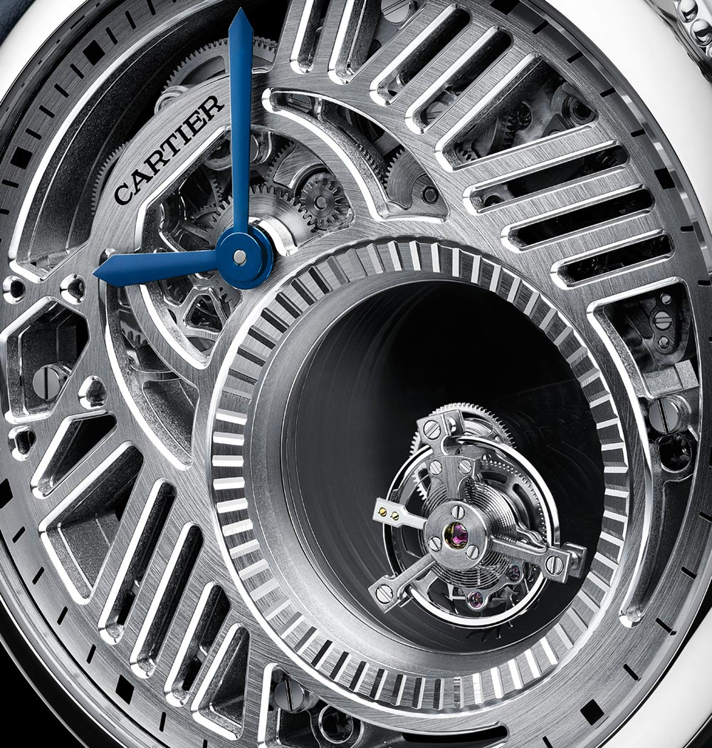 Rotonde de Cartier Mysterious Watches by Cartier