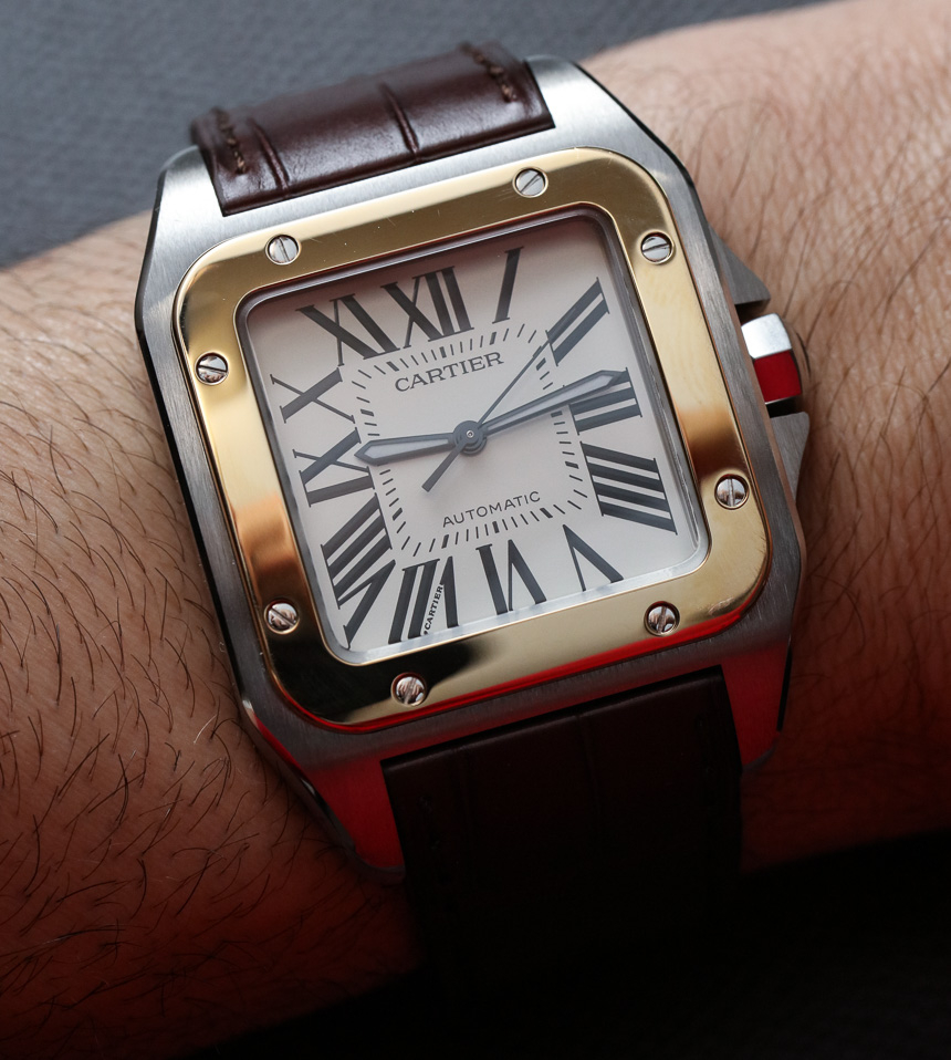 New from Cartier - Cartier Santos 100 Watch