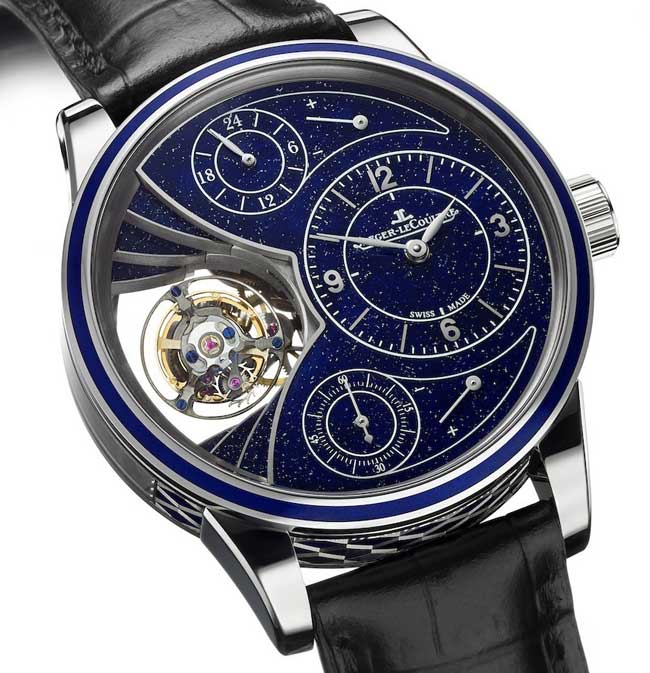 Jaeger-LeCoultre Offers Three New Hybris Artistica Versions Of The Spherotourbillon Watch