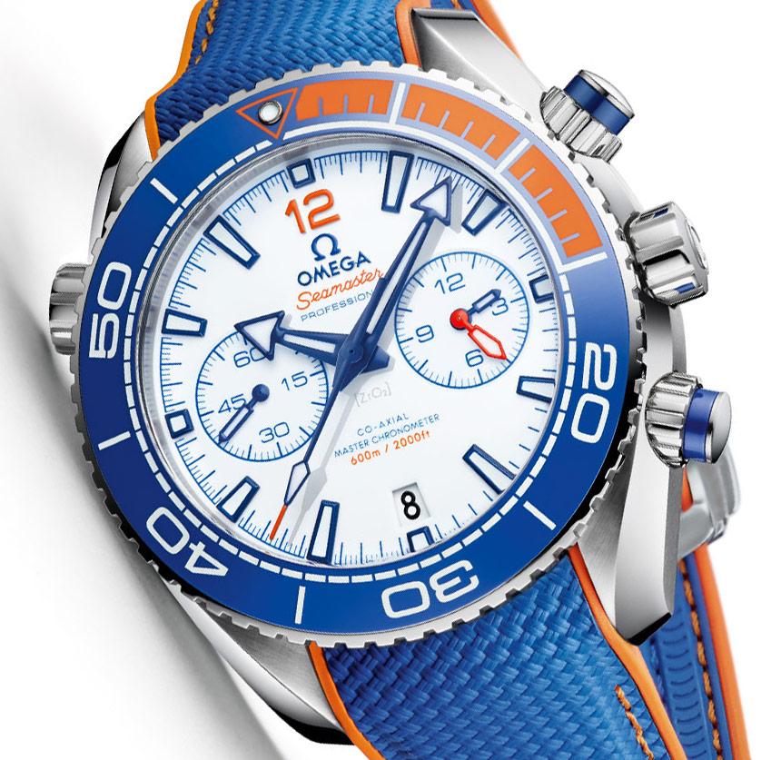 Omega Seamaster Planet Ocean 'Michael Phelps' Limited Edition Watch