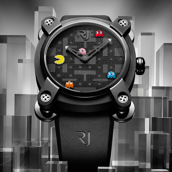 Romain Jerome PAC-MAN Watches – The Return of the Video Game Icon