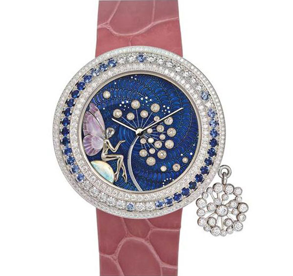 Four Limited Editions of Van Cleef & Arpels Charms Extraordinaires Watches